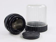 NEW. Old stock. Black Russian portrait 85mm f/2 JUPITER-9 Zenit M42 s/n 8717388.