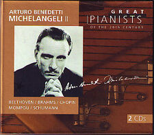 Arturo Benedetti MICHELANGELI 2: GREAT PIANISTS OF THE 20TH CENTURY 2CD Chopin