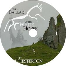 The Ballad of the White Horse Epic Audiobook Poem G K Chesterton on 2 Audio CDs