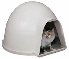 Kitten Cat Condo Igloo Dome House Beds Furniture Dog Puppy Pet Sleep Area Supply