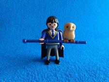 Playmobil Harry Potter with owl custom made con lechuza Eule  ( ie )