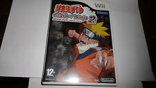 jeu de WII Naruto, clash of ninja  2