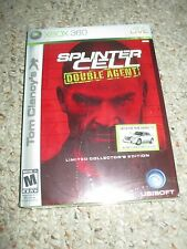 Tom Clancy's Splinter Cell Double Agent Limited Collector's Edition Xbox 360 NEW