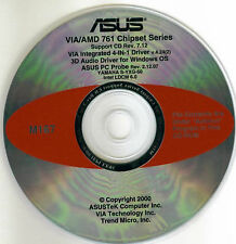 ASUS A7 PRO Motherboard Drivers Installation Disk M167