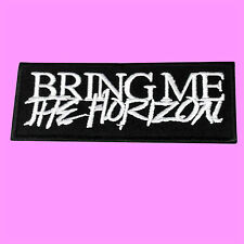Bring Me The Horizon BMTH Death Metal Heavy Rock Music Iron On Embroidered Patch