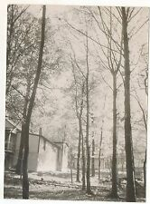 Homes on Pen Mar Road, Pennsylvania Maryland PA MD Vintage 1970s Photograph