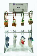 8 Hook Silver Counter Top Retail Shop Display Stand (K9)