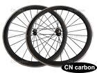 R13+ Aero 424 blade spokes 50mm Clincher carbon bike wheels Alloy brake surface
