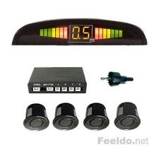 4 SENSORI DI PARCHEGGIO WIRELESS UNIVERSALI DISPLAY RETROMARCIA AUTO CAMION KIT