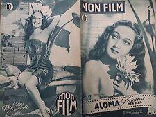 """MON FILM 1948 N 99 """" ALOMA, PRINCESSE DES ÎLES"""" avec DOROTHY LAMOUR"""
