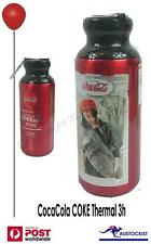 ELITE Storica Coca Cola Thermo Aluminium Bottle Cycling Sports 500ml Red BNWT