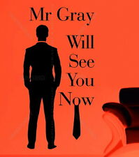 Fifty 50 Shades Of Grey Mr Gray Will See You Quote Christian Vinyl Wall Sticker