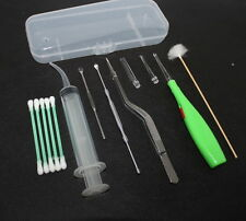 Tonsil Stone Remover Kit w/ LED Light & Box + Irrigation Syringe + Premium Tool