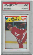1988 Steve Yzerman O-Pee-Chee OPC #196 PSA 9 Mint Hockey Card