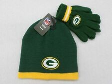 NFL Green Bay Packers Infant Cuffles Green Knit Hat and Gloves