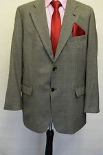 MS498  MARKS AND SPENCER MEN'S BLACK & WHITE TWEED BLAZER JACKET SIZE 44M