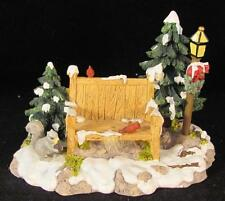 Dept 56 Village Accessories Mill Creek Park Bench  #52654