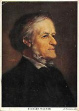 B99761 richard wagner painting postcard  herrmann composer  famous people