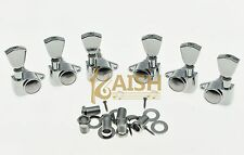 Chrome Tulip Button Guitar Tuners Tuning Keys for Acoustic or LP Les Paul Guitar
