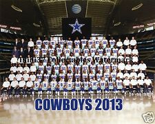 2013 DALLAS COWBOYS FOOTBALL TEAM 8X10 PHOTO PICTURE RP