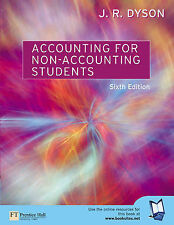 Accounting for Non-accounting Students by J.R. Dyson (Paperback, 2003)