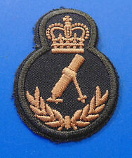 Canadian Armed Forces CANADA MORTOR qualification trade sleeve patch badge LVL 4