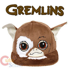 Gizmo Gremlins Plush Flat Bill Hat  Adjustable Trucker Cap  Licensed