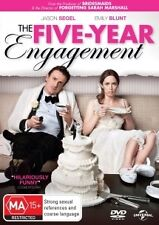 FIVE-YEAR ENGAGEMENT-Emily Blunt, Jason Segel-Region 4-New AND Sealed