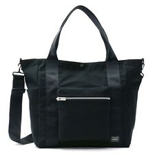 New Yoshida PORTER SPEC 2WAY TOTE BAG 580-19600 BLACK From Japan
