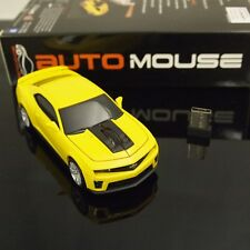 AutoMouse Chevrolet Camaro ZL 1 Car,2.4GHz Wireless Laser Optical Computer Mouse