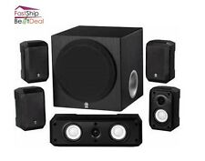 Yamaha Home Theater Speaker System Sound Surround Satellite Subwoofer Stereo New