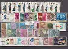 SPAIN - YEAR 1968 MNH COMPLETE (WITH REGIONAL COSTUMES) 59 STAMPS