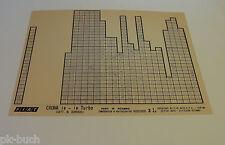 Microfich Catalogo parti di ricambio FIAT CROMA IE-IE TURBO 60331830