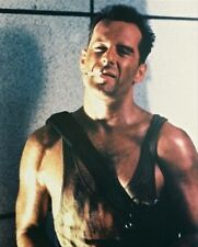 BRUCE WILLIS AS JOHN MCCLANE FROM DIE HARD 8x10 Photo