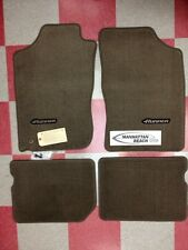 1996-2002 4RUNNER CARPET FLOOR MATS OAK BEIGE PT206-89010-14 GENUINE TOYOTA