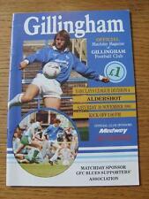 30/11/1991 Gillingham V Aldershot [ultimo LEAGUE STAGIONE] (cambiamenti del team)