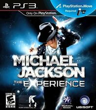 MICHAEL JACKSON EXPERIENCE PS3 MOVE! JUST FAMILY PARTY DANCE FUN! THRILLER, BAD