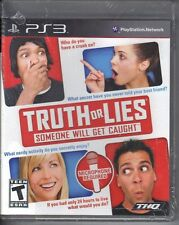 Truth or Lies  (Sony Playstation 3 PS3, 2010) Game Only Requires Microphone *New