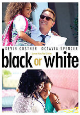 BLACK OR WHITE DVD (2015)  BUY HERE AND SAVE!!!!!