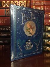 Peter Pan by J. M. Barrie New Sealed Leather Bound Illustrated Collectible Gift