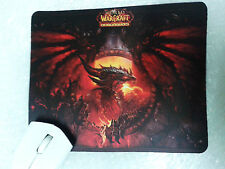 Alfombrilla raton Mousepad World Warcraft WOW dragon Deathwing SHIPS WORLDWIDE