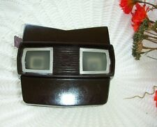 Vintage Sawyer's  Viewmaster Brown Bakelite Reel One Christmas Story 1948 USA