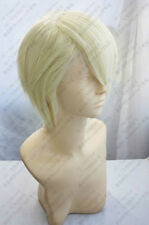 Harry Potter Draco Malfoy Short Blonde Cosplay Party Wig Fashion + Free Shipping
