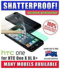 Shatterproof Screen Protector For HTC One X , X+, XL **NO MORE BROKEN SCREENS**