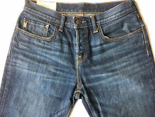 Abercrombie & Fitch Men Classic Straight Leg Button Fly Jean Size 31x30