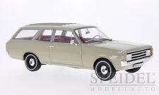 OPEL Rekord C Caravan Kombi beige grau 1970 BoS Resin Sonderpreis SP 1:18