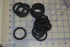 """0 ring rubber gasket 1 1/2"""" ID 2"""" OD 1/8 thick lot of 25"""