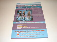 ATOMIC KITTEN BE WITH YOU!!!!!!!!!RARE FRENCH PRESS/KIT