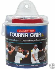 Tourna Grip Original XL Blue - 30 Pack Pouch Overgrip Overgrips Tennis Badminton
