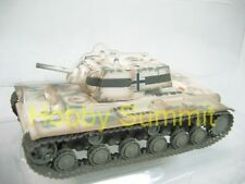 1/72 German Army WW2  KV-1 1941 Tank Captured Russian Heavy Tank Winter Camo !